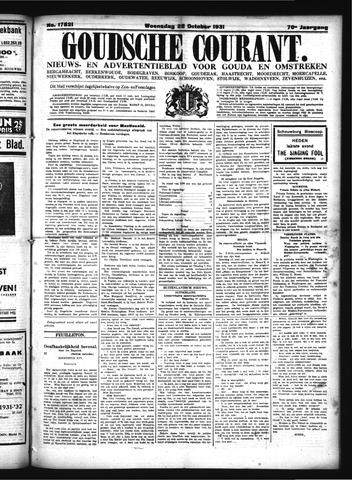 Goudsche Courant 1931-10-28