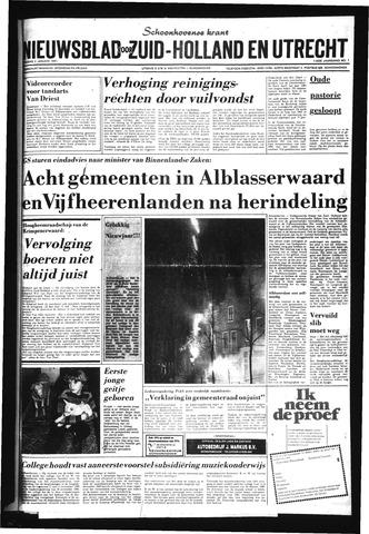 Schoonhovensche Courant 1981