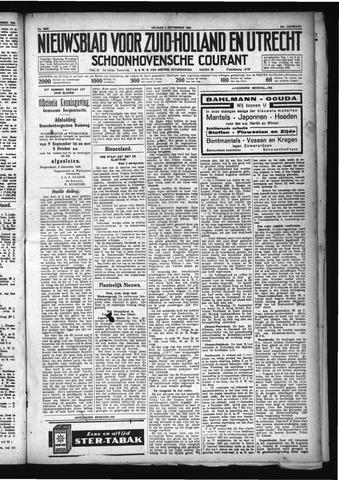 Schoonhovensche Courant 1929-09-06
