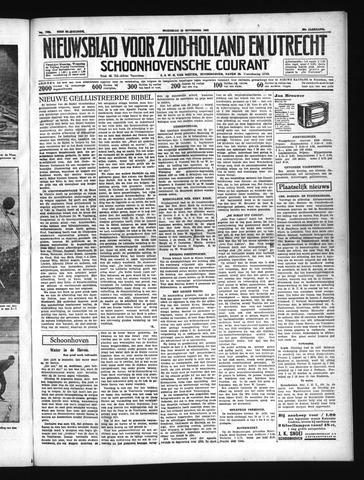 Schoonhovensche Courant 1937-11-10