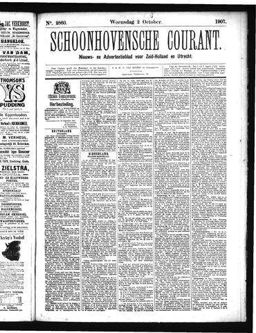 Schoonhovensche Courant 1907-10-02