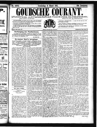 Goudsche Courant 1921-03-31