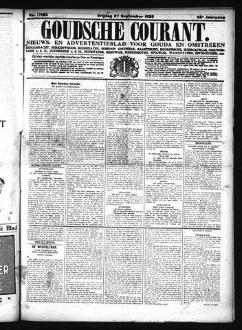 Goudsche Courant 1929-09-27