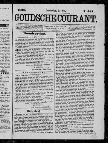Goudsche Courant 1868-05-21