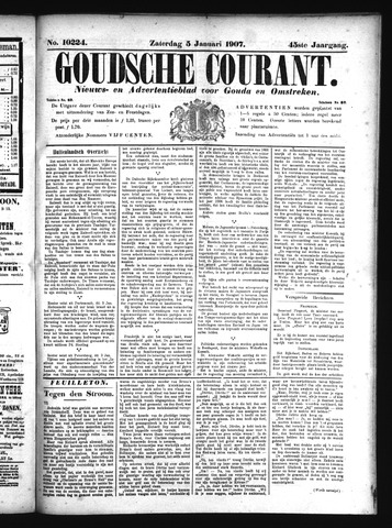 Goudsche Courant 1907-01-05
