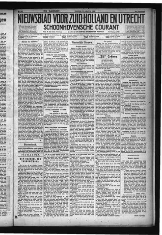 Schoonhovensche Courant 1932-08-22
