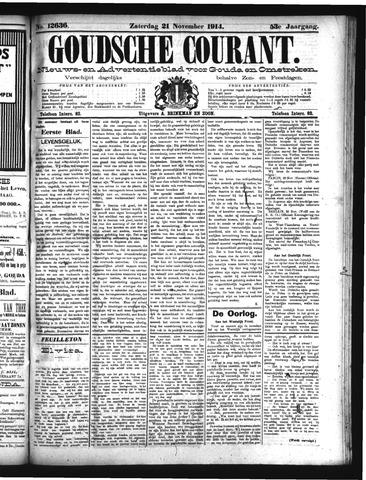 Goudsche Courant 1914-11-21