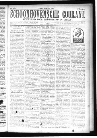 Schoonhovensche Courant 1925-03-20