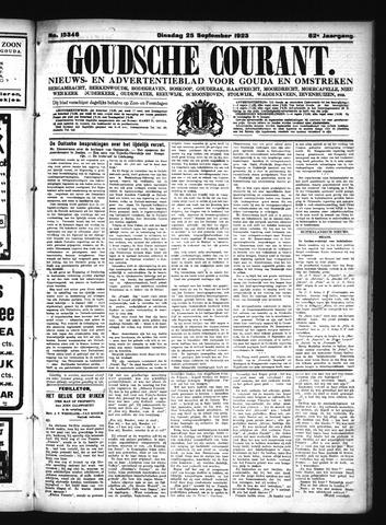 Goudsche Courant 1923-09-25