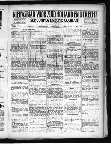 Schoonhovensche Courant 1938-04-20
