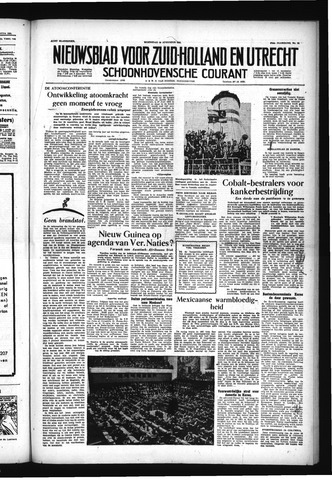 Schoonhovensche Courant 1955-08-10
