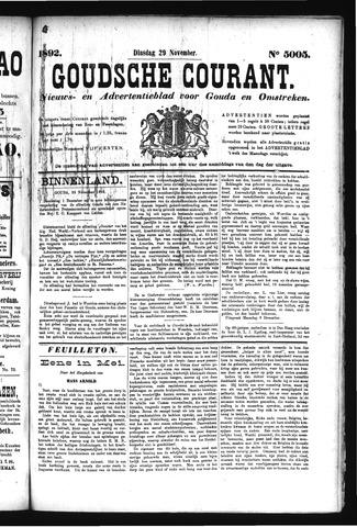 Goudsche Courant 1892-11-29