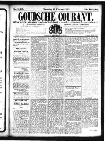 Goudsche Courant 1911-02-13