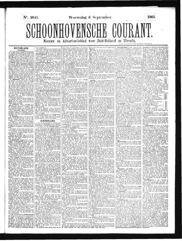 Schoonhovensche Courant 1905-09-06