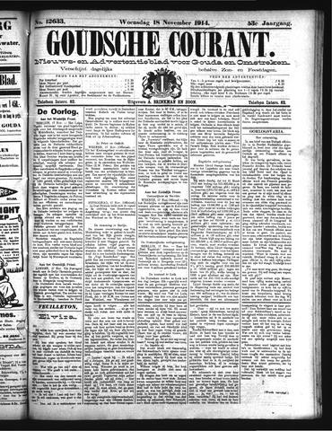 Goudsche Courant 1914-11-18