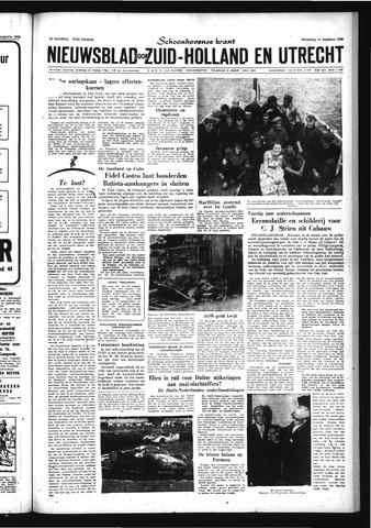 Schoonhovensche Courant 1959-08-12
