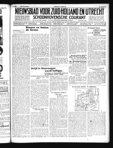 Schoonhovensche Courant 1940-04-24