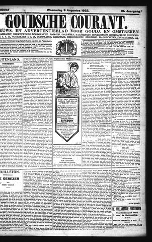 Goudsche Courant 1922-08-09