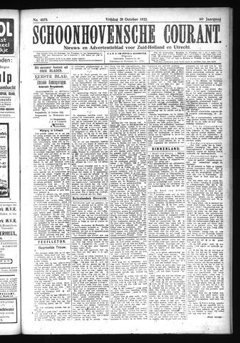 Schoonhovensche Courant 1922-10-20
