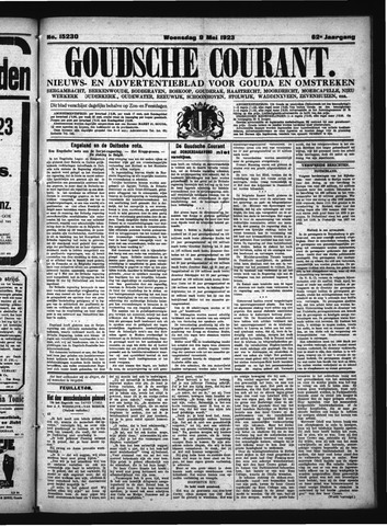 Goudsche Courant 1923-05-09
