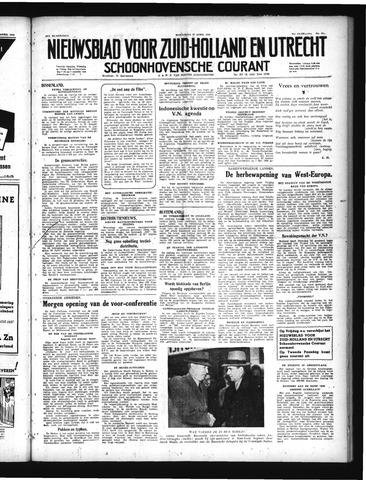 Schoonhovensche Courant 1949-04-13