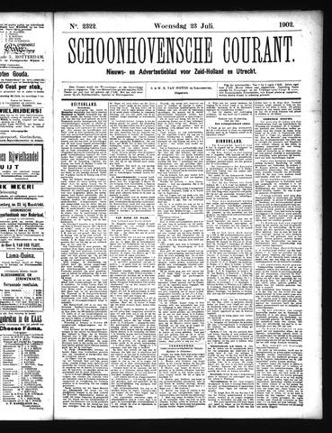 Schoonhovensche Courant 1902-07-23