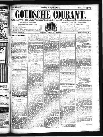 Goudsche Courant 1914-04-07