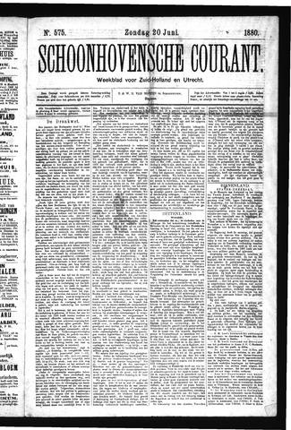 Schoonhovensche Courant 1880-06-20