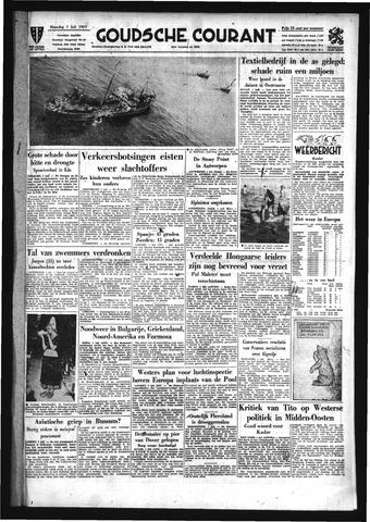 Goudsche Courant 1957-07-01