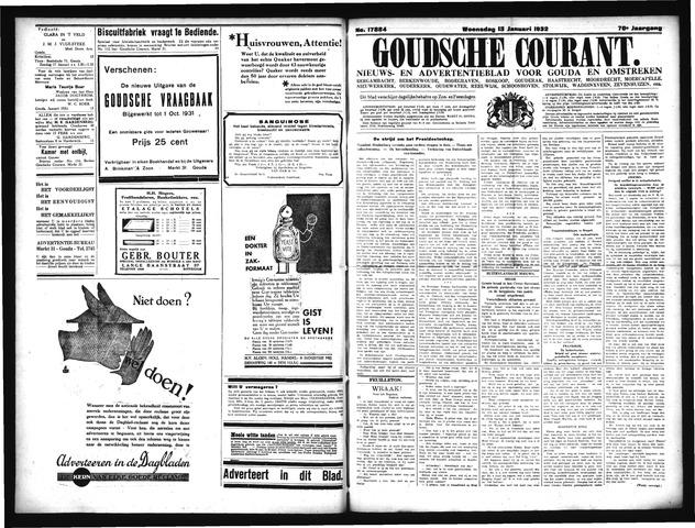 Goudsche Courant 1932-01-13