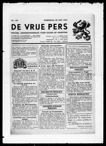 De Vrije Pers 1945-06-20