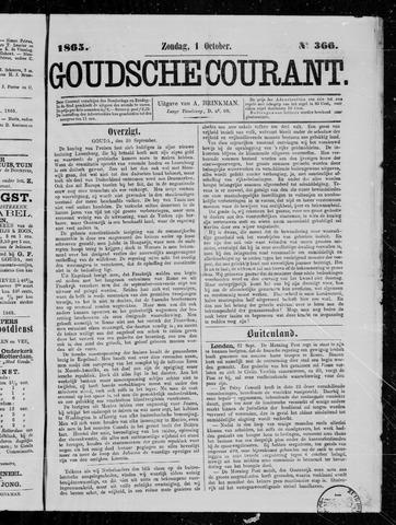 Goudsche Courant 1865-10-01
