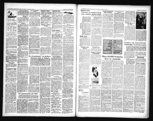 Schoonhovensche Courant 1956-08-01