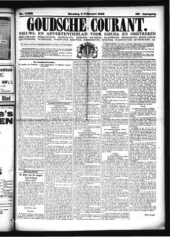Goudsche Courant 1930-02-11