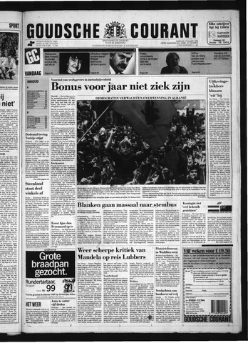 Goudsche Courant 1992-03-17