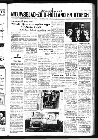 Schoonhovensche Courant 1960-01-06