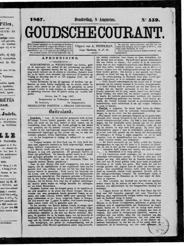 Goudsche Courant 1867-08-08