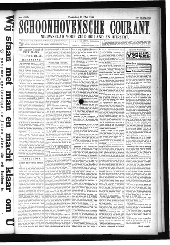 Schoonhovensche Courant 1925-05-11