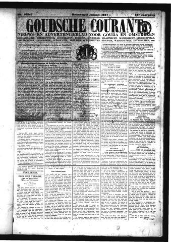 Goudsche Courant 1927