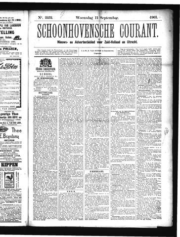 Schoonhovensche Courant 1901-09-11