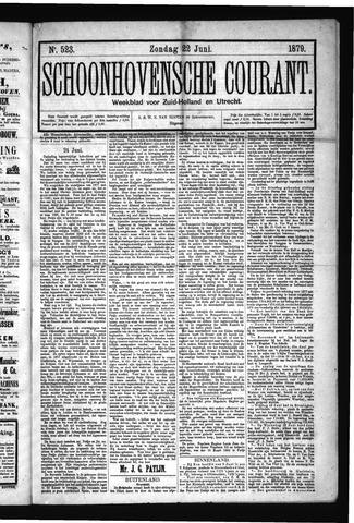 Schoonhovensche Courant 1879-06-22