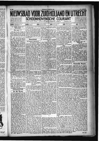 Schoonhovensche Courant 1929-08-21
