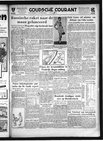 Goudsche Courant 1959-01-03