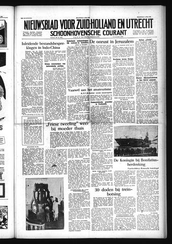 Schoonhovensche Courant 1954-07-05