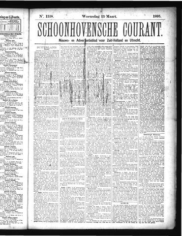 Schoonhovensche Courant 1895-03-13