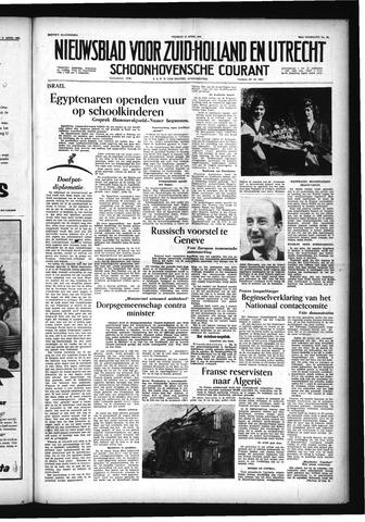Schoonhovensche Courant 1956-04-13