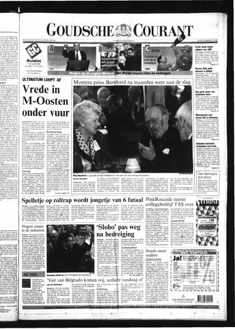 Goudsche Courant 2000-10-09