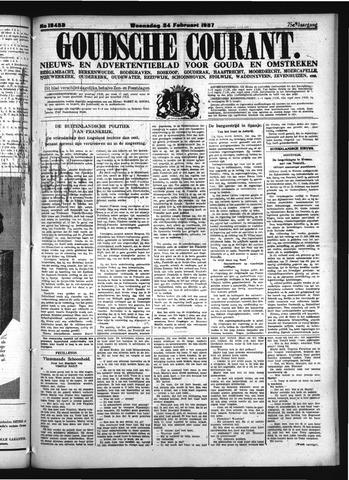Goudsche Courant 1937-02-24