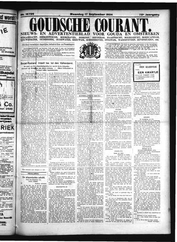 Goudsche Courant 1934-09-17