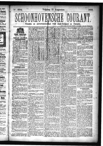 Schoonhovensche Courant 1916-08-11